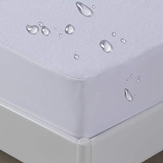 UMI. Essentials femsidig vattentätt madrassskydd,andningsbart madrassöverdrag i frotté bomull,med vattentäta sidokjolar -(...