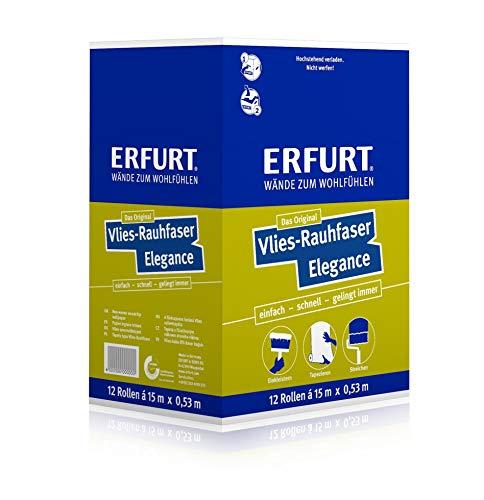 Erfurt Vlies Rauhfaser Elegance 12 Rollen á 7,9 m²