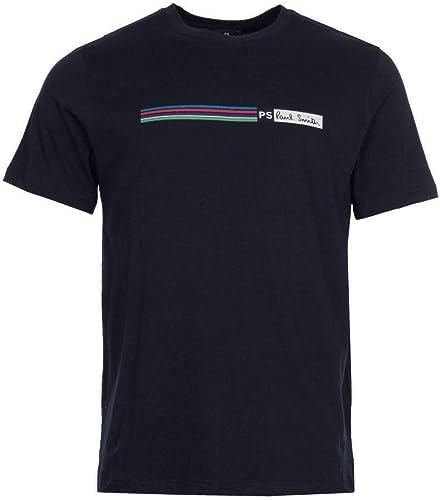 PS - T-Shirt - Manches Courtes - Homme Noir Noir