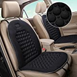 summerkimy Car Seat Cushions Cover Universal Van Magnetic Seat Pad Set Bubble Massaging Protector Therapy Health Back Pain Protection Support for Cars Carvanas Trucks Home Office Chairs