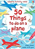 50 things to do on a plane: Usborne Activity Cards
