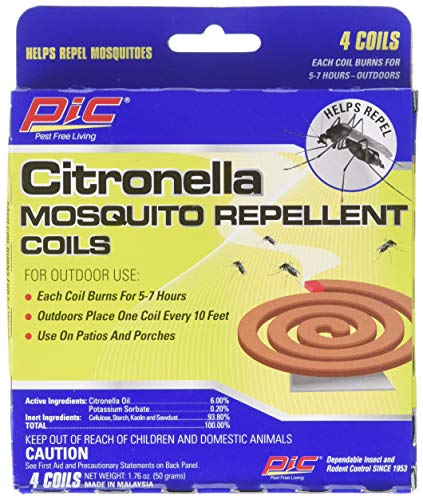 PIC 4322 Mosquito Repellent, 4 Coils (Pack of 3), 1