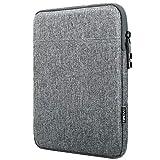 TiMOVO 13 Zoll Laptop Tasche Hülle Kompatibel mit MacBook Air 13 Zoll, iPad Pro 12.9 2020, MacBook Pro 13 Zoll, Galaxy Tab S7+, Surface Pro X/7/6/5/4/3, Schlank Sleeve Tragbar Schutzhülle, Hell Grau