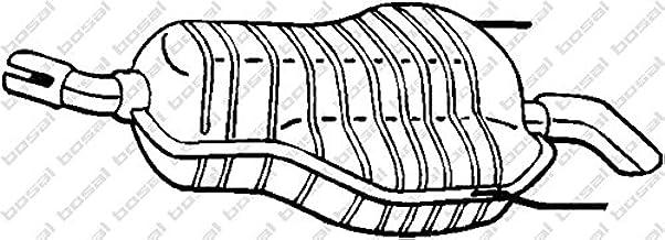 Bosal 185 647 Endschalldämpfer Auto