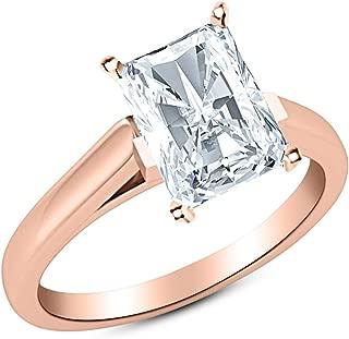 1.8 carat radiant cut diamond