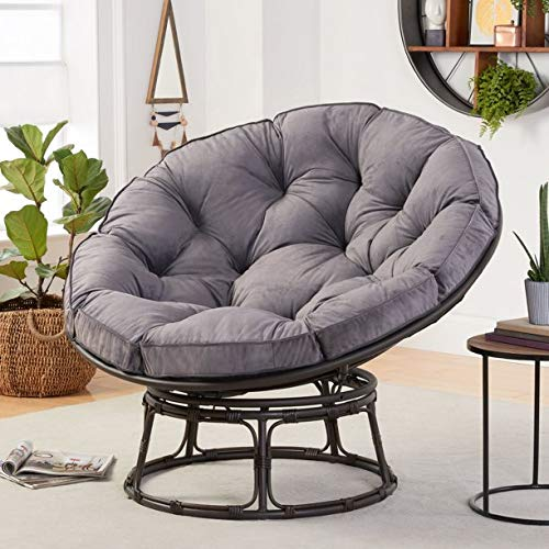 Better Homes & Gardens Papasan Chair with Fabric...