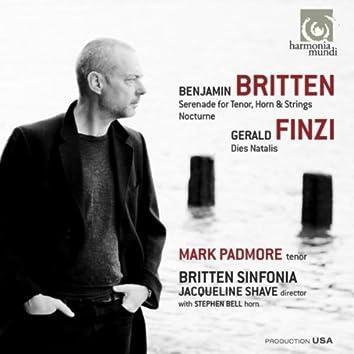 Britten: Serenade for tenor, horn & strings - Nocturne. Finzi: Dies Natalis