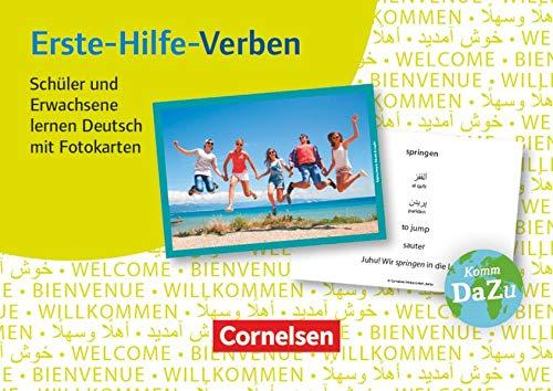 Deutsch lernen mit Fotokarten - Sekundarstufe I/II und Erwachsene: Erste-Hilfe-Verben - 100 Fotokarten