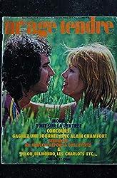 mademoiselle age tendre n° 106 * septembre 1973 * STONE & CHARDEN CHAMFORT DELON BELMONDO CHARLOTS