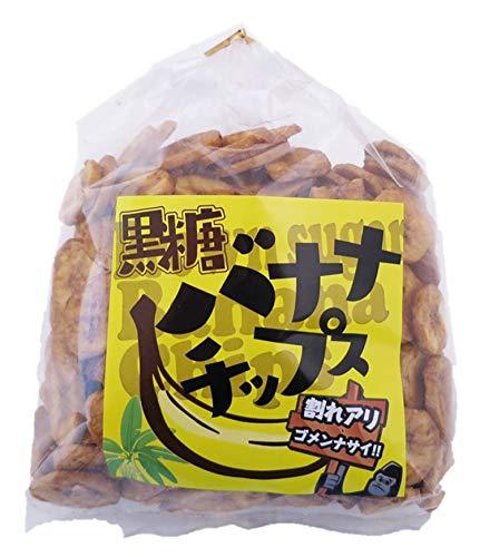 ナガトク 黒糖バナナチップス 210g ×2袋