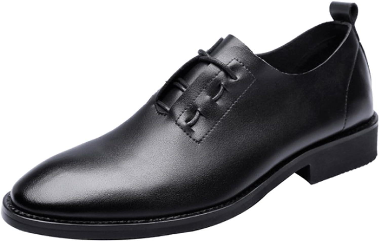 SCSY-Oxford-Schuhe Mode Für Männer Niedrige Spitzenschuhe Casual Matte PU Leder Müßiggänger Criss Cross Lace Up Atmungsaktive Spitze Oxfords Schwarz  | Bekannt für seine gute Qualität