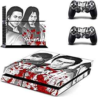 Japanese Gangster - PS4 Skin Console and 2 Controller, Vinyl Decal Sticker Full Cover Protective by Teemeow