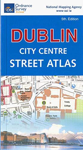 Dublin City Centre Pocket Street Atlas 1 : 10 000 (Irish Maps, Atlases and Guides)