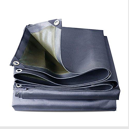 Zfggd Bâche résistante imperméable à l'eau Forte de bâche de Couverture de Gris de bâche résistante (Taille : 3x3m)