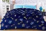 Alta densidad super suave franela manta para el sofá cama textil Cute Fluffy de lana de peluche Niños Manta 120cmx200cm, poliéster/lana, 150X200cm, 1