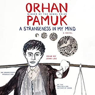 A Strangeness in My Mind audiobook cover art