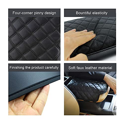 Auto Central Console Armrest Rest Pad Fit for 2022 Kia Carnival KA4 MPV Seat Box Cover Protector Automotive Car Center Console Soft Cushion