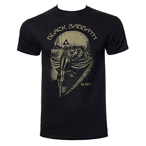 Black Sabbath - - Nous Tour de 78 T-shirt des hommes en noir, Large, Black