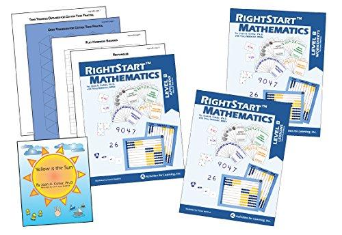 RightStart Mathematics Level B Book Bundle