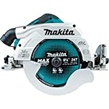Makita DHS900Z Handkreissäge 85mm 2x18 V (ohne Akku, ohne Ladegerät), 36 V, Petrol