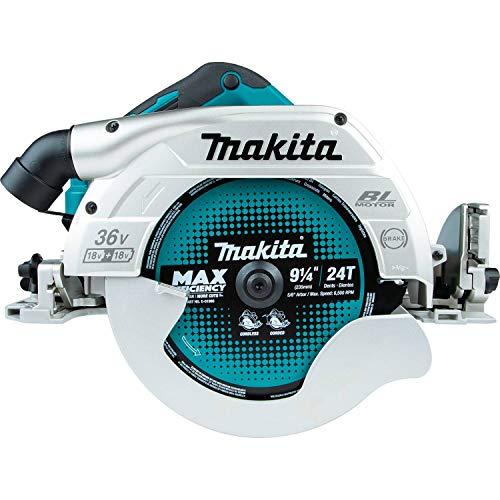 Makita DHS900Z Sierra Circular BL 18Vx2 LXT 235 mm (sin batería y Cargador), 36 V