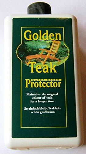 """Teak-Protector - Schutzlasur für Teakholz von \""""Golden Care\"""" Pflegemittel - 62466"""
