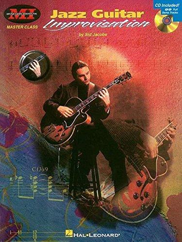Sid Jacobs Jazz Guitar Improvisation Tab Book/Cd