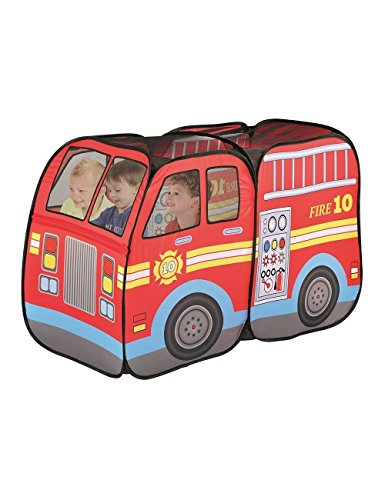 Fire Truck Engine Pop-Up Play Tent