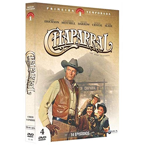 Chaparral 1ª Temporada Vol. 1 Digibook 4 Discos