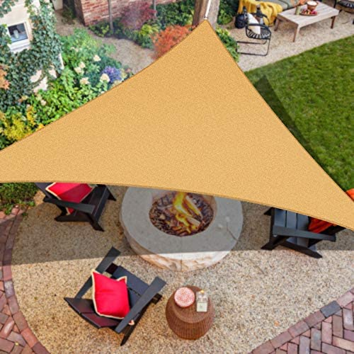 iCOVER Sun Shade Sail Canopy 185GSM Fabric Permeable Pergolas Top Cover for Outdoor Patio Lawn product image