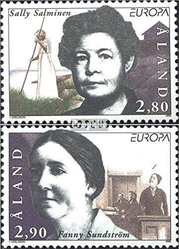 Prophila Collection Finnland - Aland 113-114 (kompl.Ausg.) 1996 Berühmte Frauen (Briefmarken für Sammler)