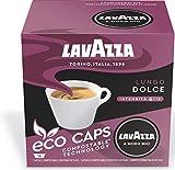 Lavazza A Modo Mio Lungo Dolce Coffee Capsules (4 Packs of 16)