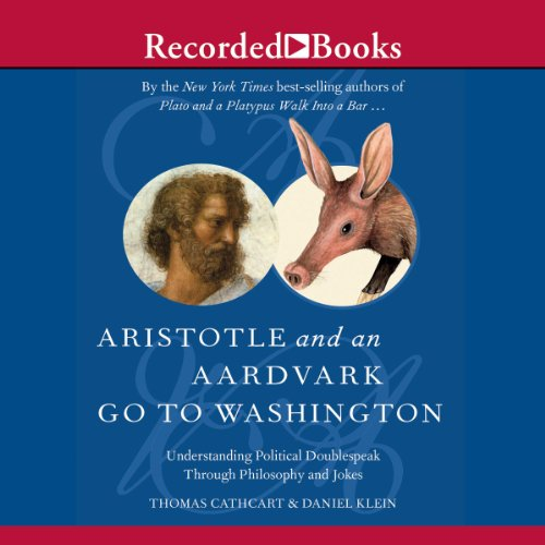 Aristotle and an Aardvark Go to Washington audiobook cover art