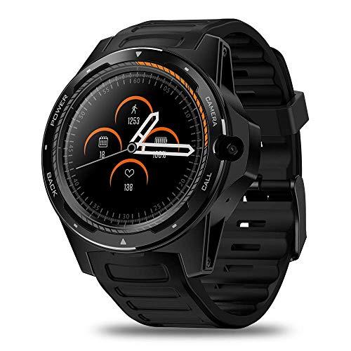 JIAJBG Fitness Tracker Thor 5-Bis-Chip Dual System Smart Watch Pulsera 800 Millones Píxeles Long Standby 2 + 16G Sport Fitness Tracker Moda/F