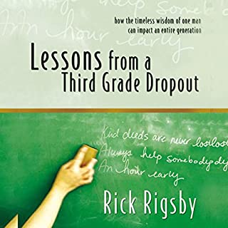 Lessons from a Third Grade Dropout audiobook cover art