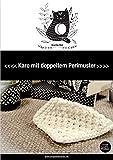 Doppeltes Perlmuster: Karo für die Kuscheldecke selber stricken