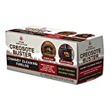 Pine Mountain 4152501500 First Alert Creosote Buster Chimney Cleaning Safety Fire log, Large, brown
