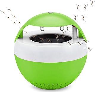 Mata Mosquitos Moscas electrico, Silencioso, Ahorro de energía, Duradero, USB////Repelente Ultrasónico de Plagas lampara antimosquitos Raqueta Matamoscas Electrico Mosquitos
