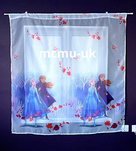 PL Disney Gardinen Die Eiskönigin Frozen 2-75 cm Breite x 160 cm Lange Kinderzimmer Vorhang
