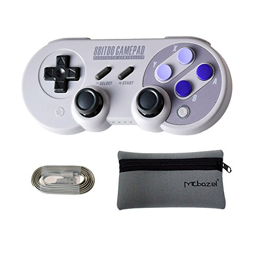 Mcbazel Bitdo SN30 PRO Wireless Bluetooth Gamepad Controller For NS Switch/Windows/ macOS/Android With Mcbazel Storage Bag