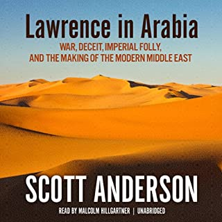 Lawrence in Arabia cover art