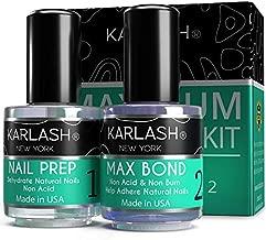Karlash Professional Made in USA Natural Nail Prep Dehydrate & Bond Primer, Nail Protein Bond, Superior Bonding Primer for Acrylic Powder and Gel Nail Polish 0.5 oz