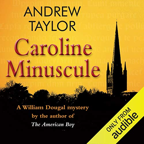 Caroline Minuscule audiobook cover art