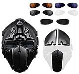 Casque de moto tactique tactile complet avec masque pour la chasse Paintball Military Cosplay Movie Prop