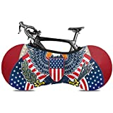 Olive Croft American Independent Day Symbol Eagle Mountainbike Reifenhülle Faltbare Fahrradabdeckung Faltbare Fahrradabdeckung Passend für Fast alle Fahrräder