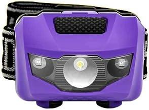 Hoofdlamp hoofdlamp mini hoofdlamp 4 modi waterdicht 600 lm R3 + 2 LED zaklamp super heldere koplamp zaklamp Lanterna gebr...