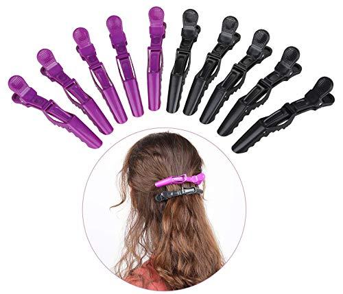 Krokodil Haarspange, 10 Stück Alligator Haarclips Kunststoff-Fachklammer Für Schönheitssalons Professionelle Frisur Für Krokodilleder