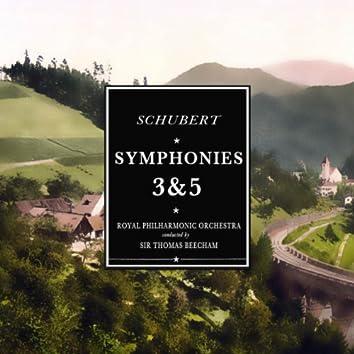 Schubert: Symphony No. 3 & No. 5 (Stereo Remaster)