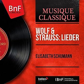 Wolf & Strauss: Lieder (Mono Version)