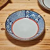 QHDYHE Co.,ltd Obsttablett Teller Japanisch Keramikplatte Glasur Farbe Western Teller Teller...